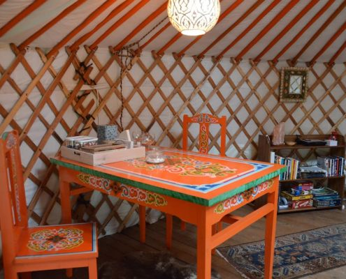 Yurt, Bed and Breakfast, Achterhoek, Gelderland