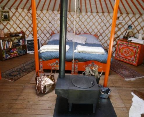 luxe kamperen, glamping, yurt, achterhoek