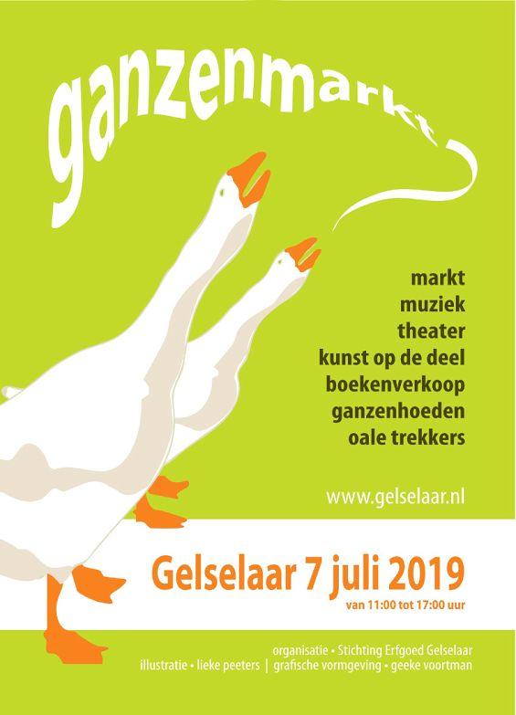 ganzenmarkt-boekenmarkt-gelselaar-7-juli-2019