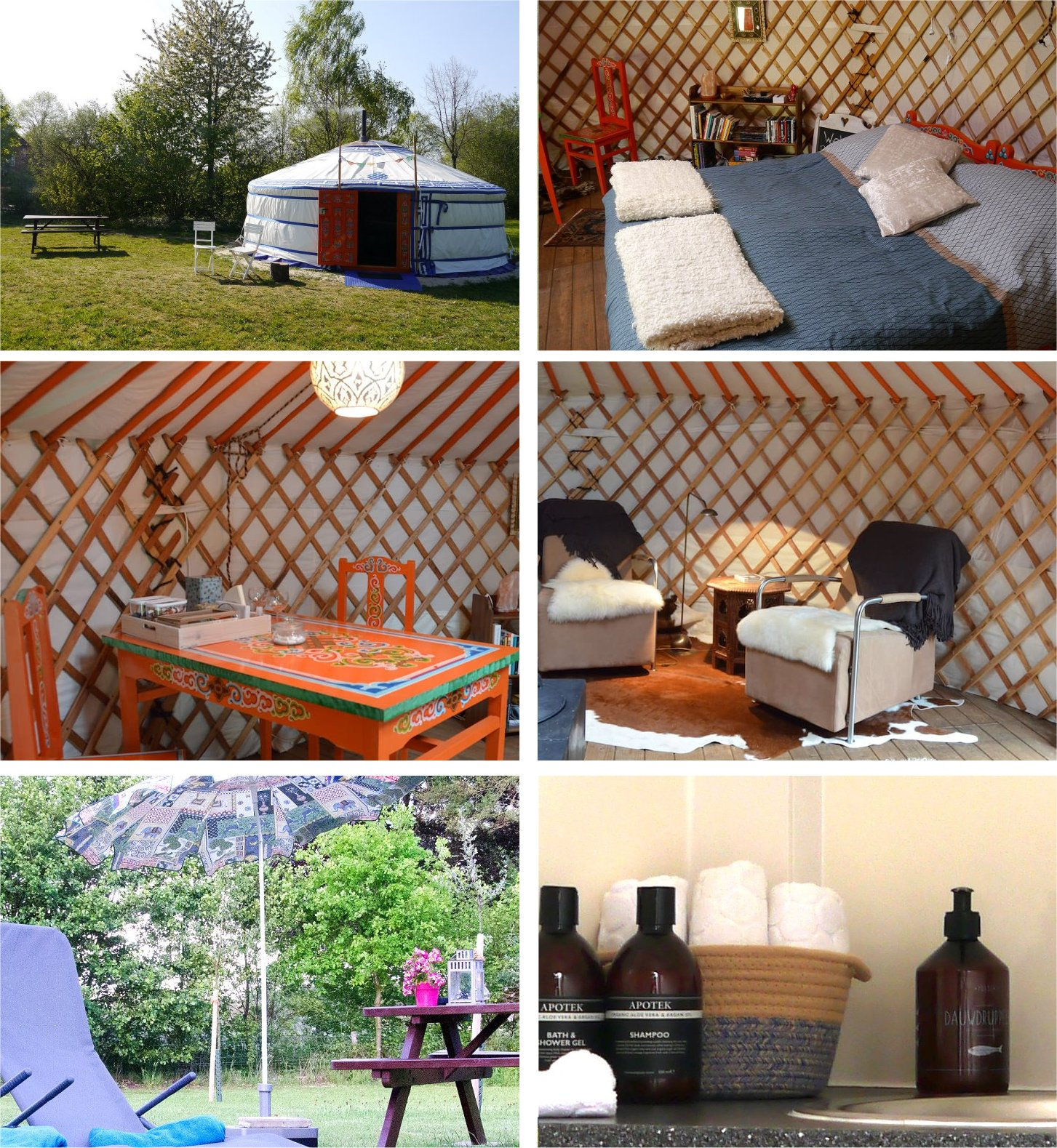 yurt bed and breakfast netherlands