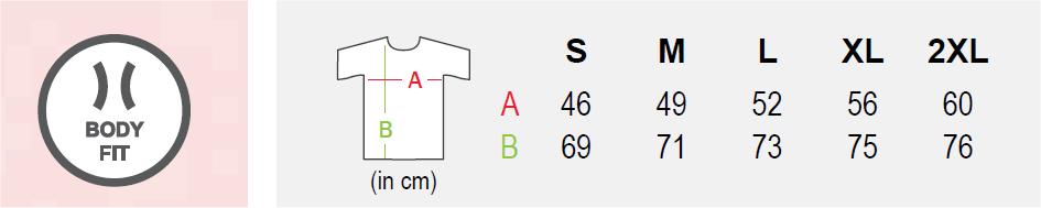 Maattabel-t-shirt-alpaca-V-hals-heren