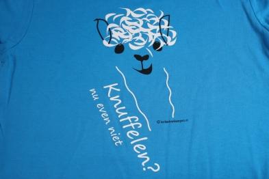t-shirt-alpaca-knuffelen-nu-even-niet-kinderen-ronde hals-blauw