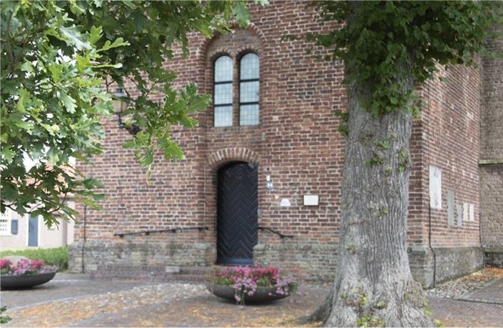 De 17e-eeuwse kerk in Geesteren, Gelderland,