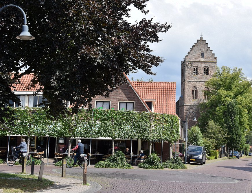 Wandelen fietsen, in de Achterhoek, Cafe-Restaurant Baan, Geesteren.