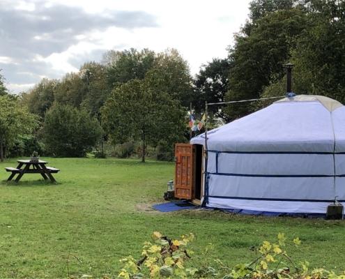 yurt, winter, winterkamperen, bedandbreakfast-achterhoek-kempers