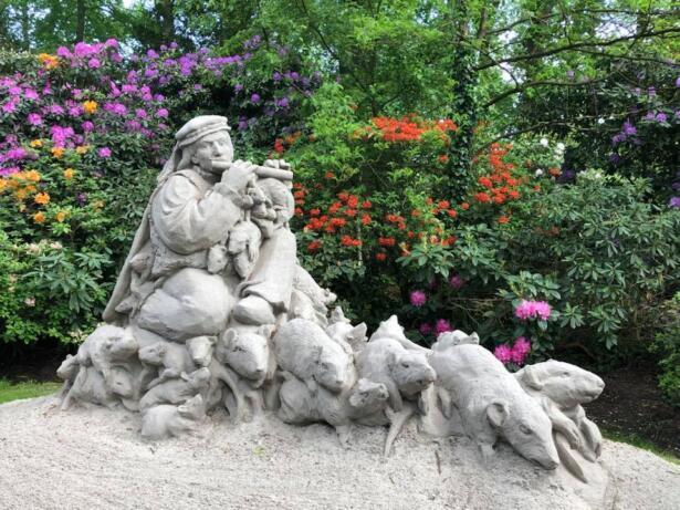 zandsculpturen, diepenheim, kasteel warmelo, bed and breakfast, achterhoek